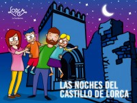 Nocturnal visits to Lorca castle during July and August