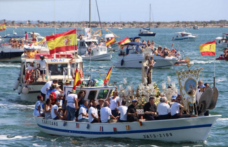 San Pedro del Pinatar celebrates 125th anniversary of maritime procession