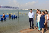 Improved disabled bathing facilities at Mar Menor beaches