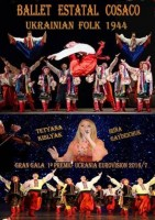 8th August Cossack State Ballet with Ukrainian folk in Águilas