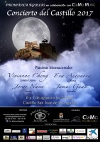 6th and 7th August classical piano in Águilas castle