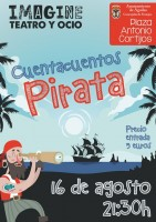 Wednesday 16th August Children's pirate stories in Águilas