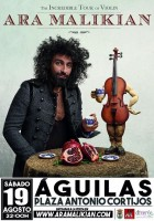 19th August Ara Malikian in Águilas