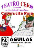 Wednesday 23rd August Little Red Riding Hood in Águilas
