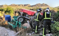 Jumilla farmer crushed by tractor