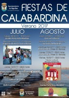 9th August free open.air dance in Calabardina, Águilas