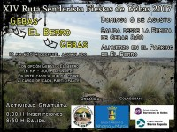 6th August free 12km guided senderismo route from El Berro to Gebas in the Sierra Espuña