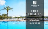 Book your holiday now and get a free night at La Manga Club