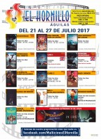 21st to 27th July: El Hornillo cinema programme Águilas