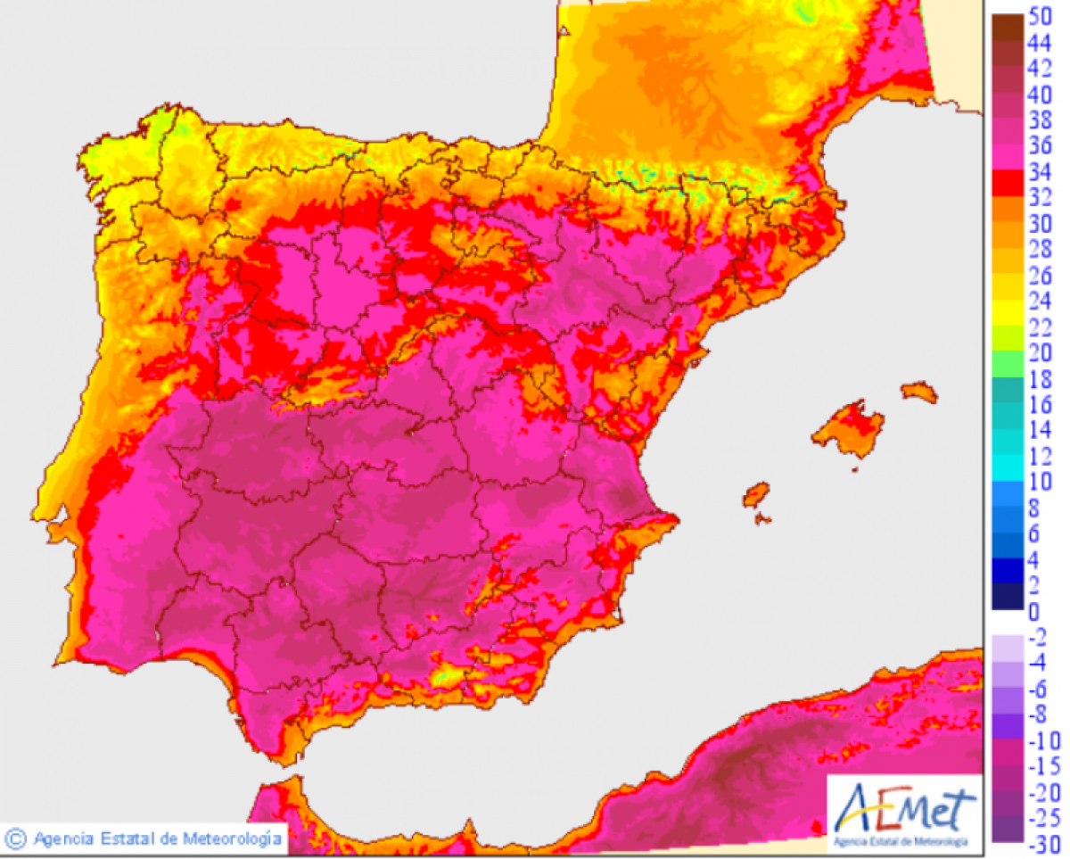 Temperatures set to soar again throughout Murcia