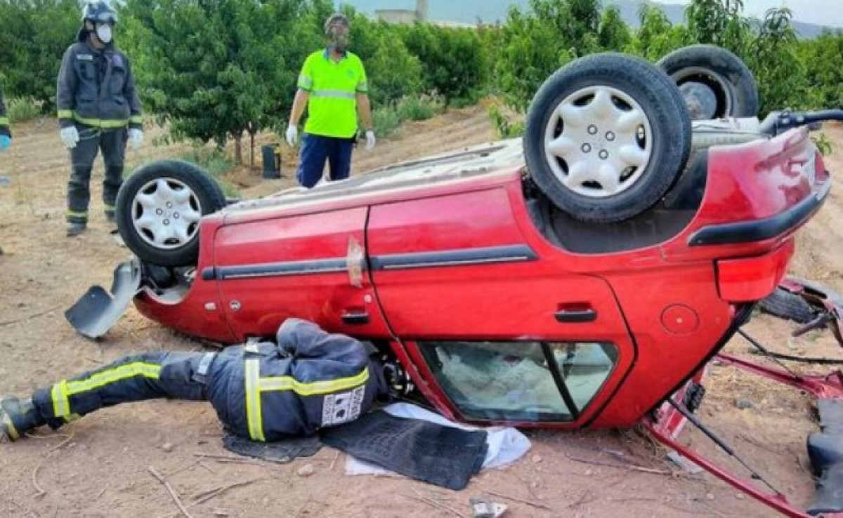 Road death in Jumilla after head-on collision with lorry