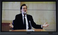 President of the Spanish government appears in court