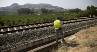 Málaga town mourns 3-year-old girl hit by train