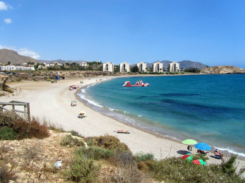 Mazarrón beaches: Playa del Mojón