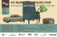 29th September to 1st October: Antiques and Collectors Fair at IFEPA, Torre Pacheco