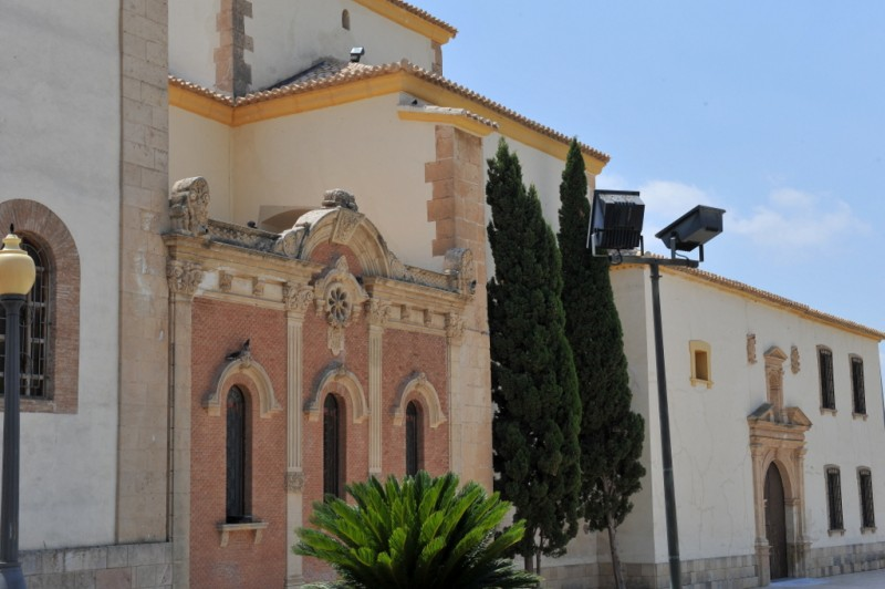 The convent and church of the Virgen de las Huertas in Lorca