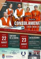 22nd and 23rd August music of joy and kindness in Santiago de la Ribera and Los Alcázares