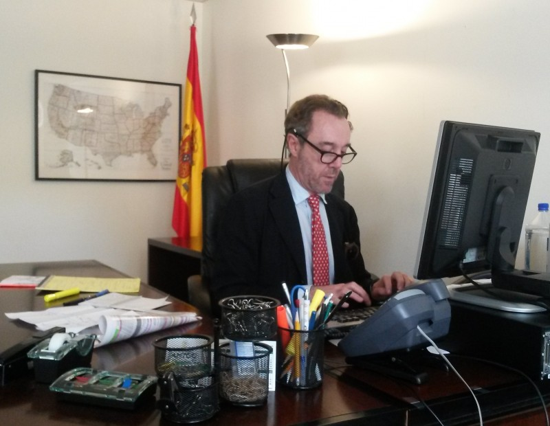 Spanish consul in Washington fired after extraordinary Twitter comment