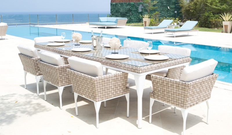 High End Outdoor Dining Chairs Modern Patio Outdoor