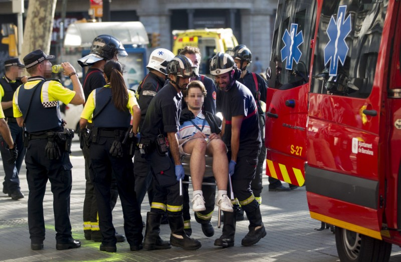 <span style='color:#780948'>ARCHIVED</span> - Police release enquiries number for Barcelona van attack