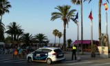Spectacular car chase ends on the Playa Barnuevo in San Javier