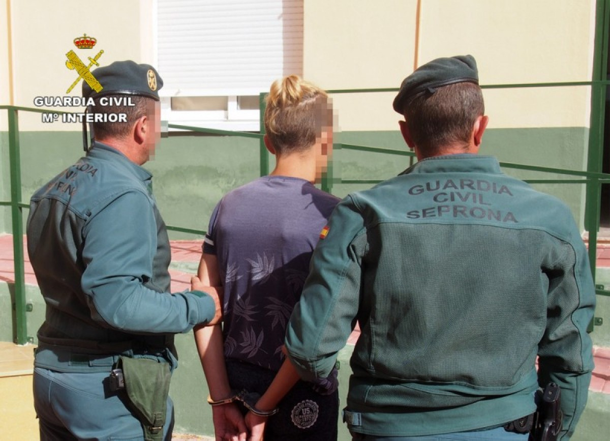 Perpetrator of eight fires in Murcia Region detained