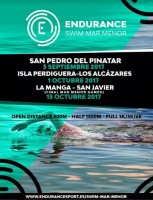 1st October Mar Menor Endurance swim in Los Alcázares