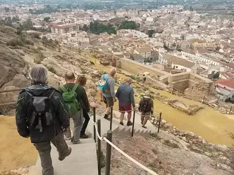9th December guided tour of Alhama de Murcia Castle