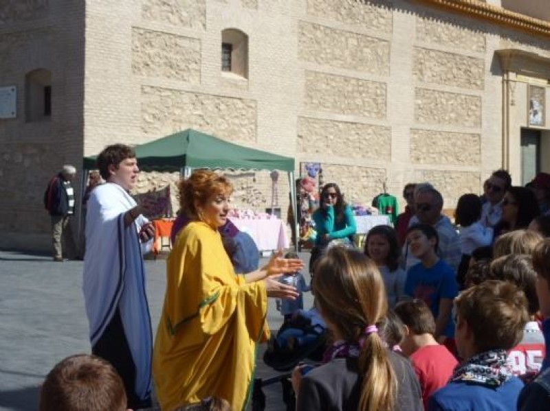17th September free guided theatrical tour of Alhama de Murcia