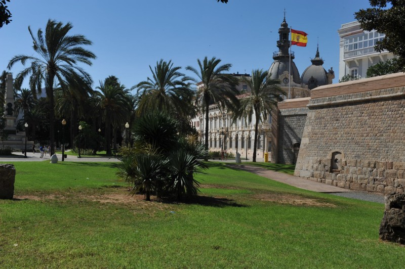 12th November free guided tour of Cartagena military structures: Paseo de Ronda