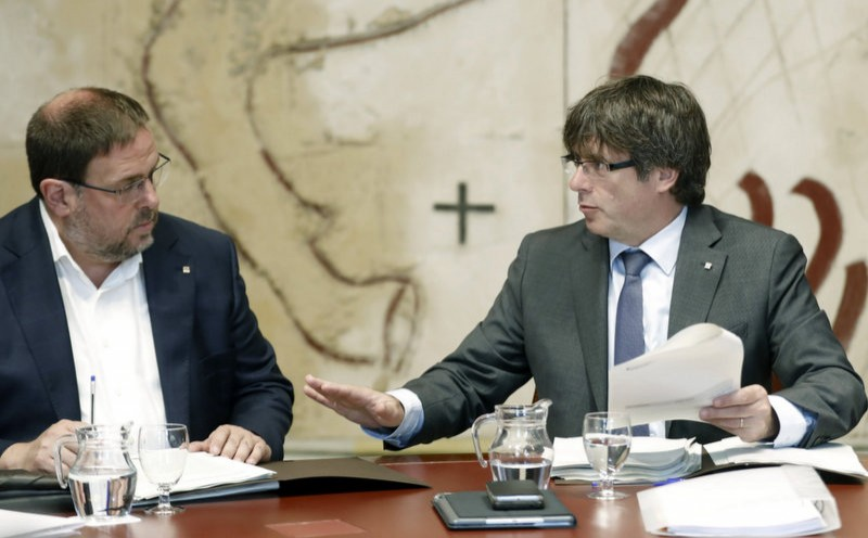<span style='color:#780948'>ARCHIVED</span> - Spanish government insists Catalan independence referendum will not go ahead on October 1st