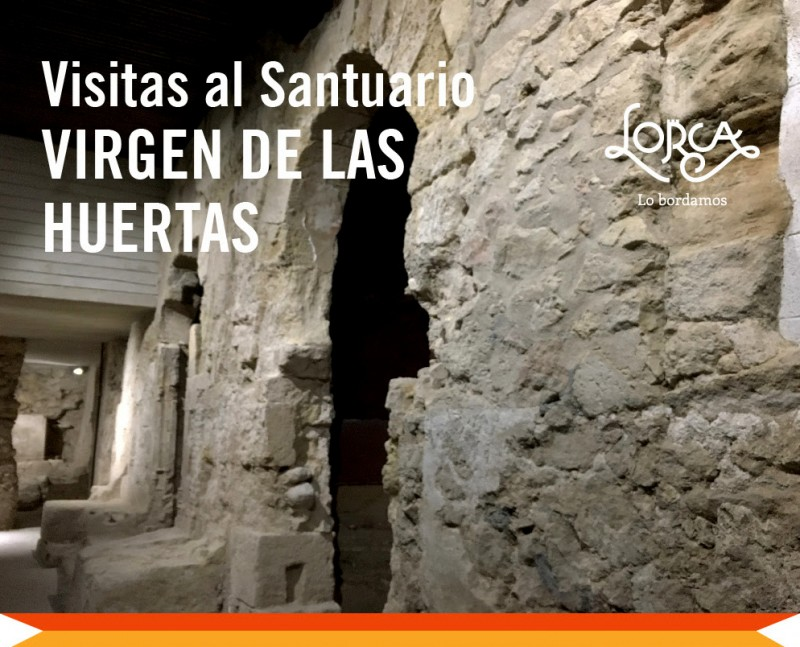 2nd December : Guided visit of the Lorca church of Virgen de las Huertas and the Moorish palace beneath