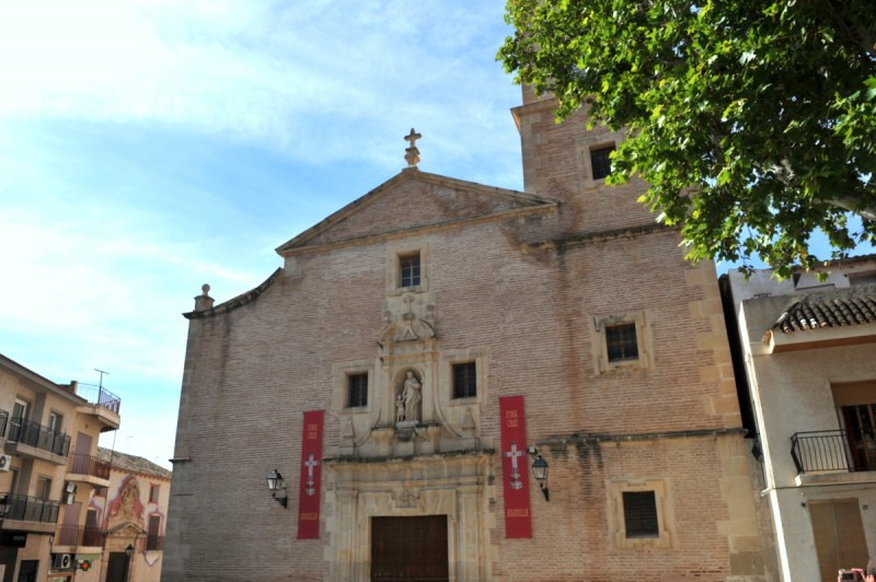 The church of San José in Abanilla
