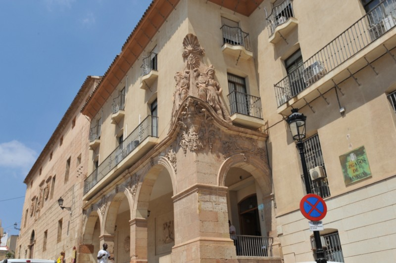 The Casa del Corregidor in Lorca