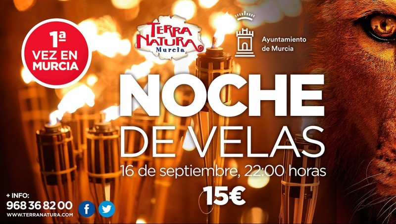 16th September: Magical candlelit visit to Terra Natura Murcia wildlife park