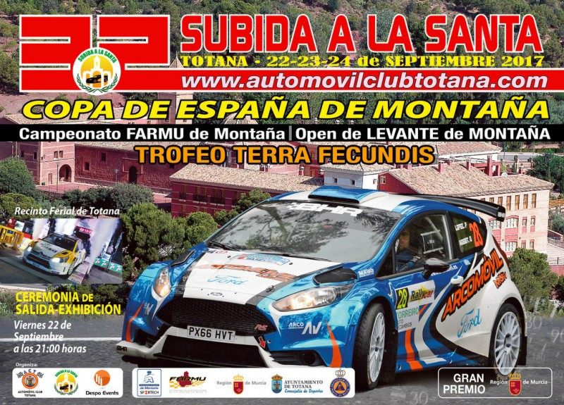 22nd to 24th September Subida a la Santa road rally racing in Totana
