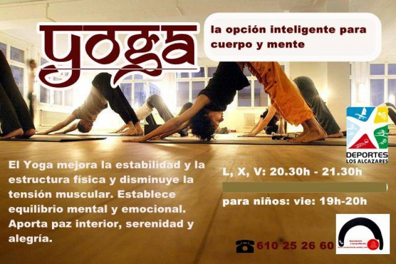 Yoga and Tai Chi in Los Alcázares this autumn