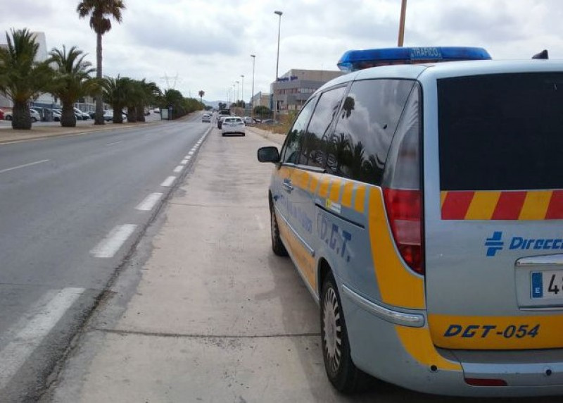 Cartagena police speed trap locations 11th to 17th September