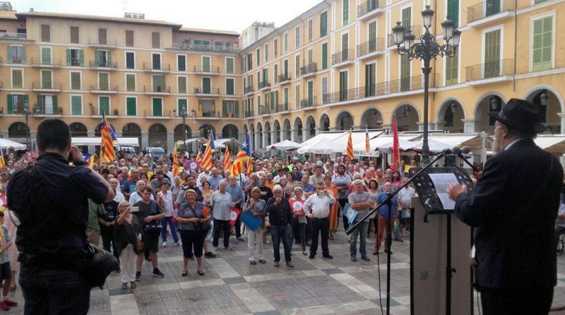 Support for Catalan independence in the Balearics