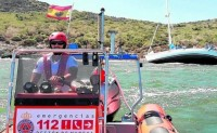 Three rescued after running aground on Isla de la Perdiguera in the Mar Menor