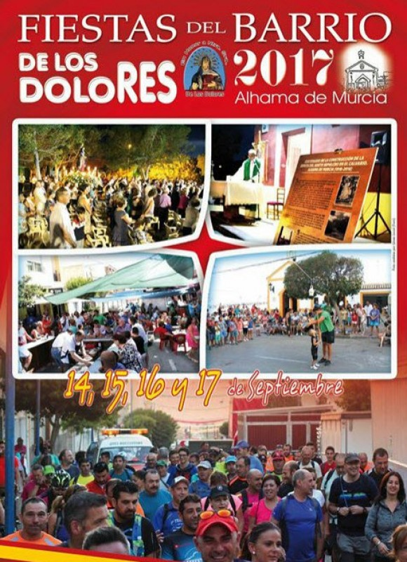 14th to 17th September Fiestas in the Barrio of Los Dolores in Alhama de Murcia