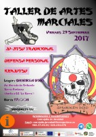 29th September free martial arts workshop in Torre Pacheco