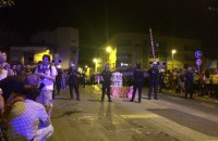 Alleged police violence in Murcia at AVE high-speed train line protests