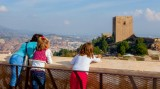 Visiting Lorca castle in September 2017