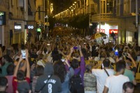 Pro-tunnel high-speed rail protesters in Murcia draw breath after an eventful week