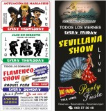 Every Friday; Sevillanas at the La Encarnación hotel and restaurant in Los Alcázares