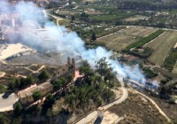 Church of Santo Cristo in Cieza saved from wild fire