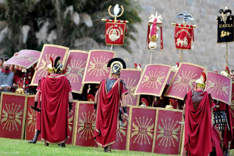Carthaginians crushed as Romans invade Cartagena