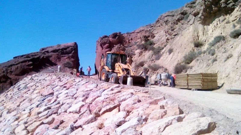 <span style='color:#780948'>ARCHIVED</span> - Consolidation works on Bolnuevo coastal track nearly concluded