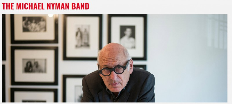 24th November, Cartagena Jazz Festival, the Michael Nyman Band